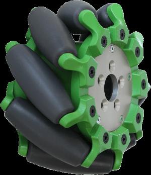 2 Teile Satz 60mm Omnidirektionale Mecanum R/äder RC Autoteile Modifikation Reifen Drfeify Mecanum Rad